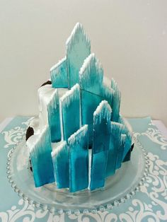 """Delectable Cakes: """"Frozen"""" Ice Castle Cake"""