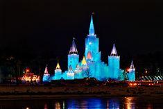 1992 St. Paul Winter Carnival Ice Castle