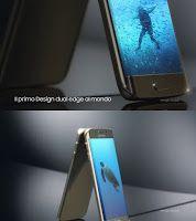 Uno dei tre nuovi spot Samsung è dedicato specificamente al modello Edge, il primo con design dual edge al mondo. In primo piano la funzione People Edge.