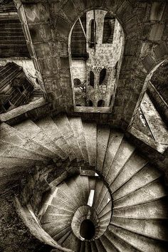 beautiful abandoned staircases | Abandoned Staircase