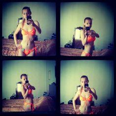 Il mio nuovo bikini arancione Divissima