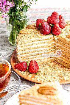 Russian Honey Cake – Medovik recipe