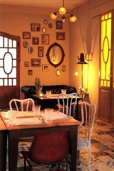 Restaurante Pica´p decoración ecléctica con toques de modernidad