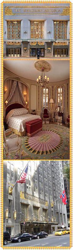 Luxury Bedroom at The Waldorf Astoria Hotel New York City⭐️