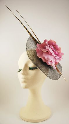 Melb Cup, Melbourne Cup Fashion, Facinator Hats, African Hats, Fascinator Hairstyles, Church Hats, Berets, Love Hat, Dress Hats