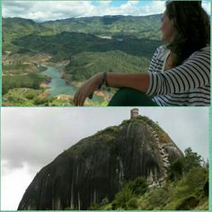 Climbed this big fella which gave me a beautiful view! - Guatape '13