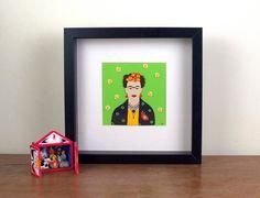 Frida Kahlo Papercut by loutaylorpapercuts on Etsy, £35.00