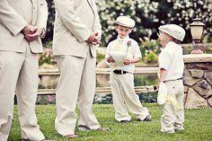 omg soo adorable. Love the hats! #wedding #ring