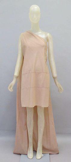 Dress, synthetic, Helmut Lang designer, Austrian, 1994-95