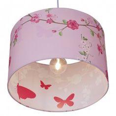 Little Dutch hanglamp silhouette - pink blossom