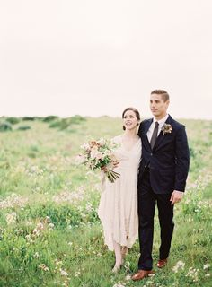 Wedding Blog Magnolia Rouge Cover Feature by Jen Huang...handsome couple!!
