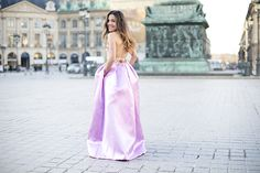 LADY IN PINK AT PLACE VENDÔME | PEEPTOES