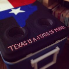 Lone Star State of Mind Cooler