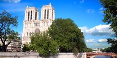 Le Notre Dame Hotel - Paris France Facing the Seine and Paris' breathtaking cathedral.  Rooms from $299.