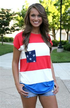 Cute shirt for the 4th of July!