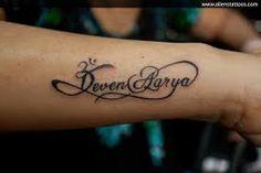 Afbeeldingsresultaat voor name tattoo wrist