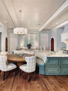 Unique Kitchen islands with Seating. Unique Kitchen islands with Seating. 21 Unique Kitchen island Ideas for Every Space and Bud Kitchen Island With Bench Seating, Kitchen Islands, Island Bench, Kitchen Booth Seating, Kitchen Island Booth, Curved Kitchen Island, Kitchen Booths, Interior Design Kitchen, Kitchen Decor
