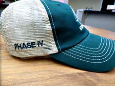 Change up your hats with some side-panel embroidery Change, Embroidery, Hats, Needlework, Needlepoint, Hat, Embroidery Stitches, Cut Work