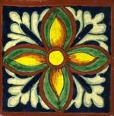 Hand Painted Decorative Tiles Impressive Ceramic Hand Painted Decorative Tile Collection Gr 60  Mexican Decorating Design
