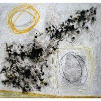 Fragments de vie XII | 61 x 61 cm | Techniques mixtes sur toile