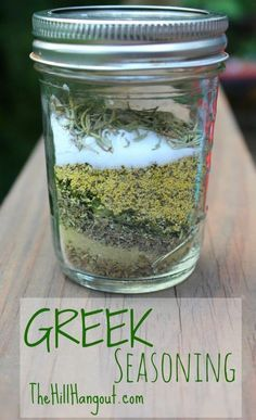 The Hill Hangout shares a recipe for traditional homemade Greek seasoning. Delicious in your favorite fish, chicken, and pork dishes.