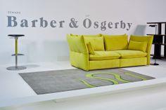 Vitra at Salone Internazionale del Mobile 2014 Mariposa Sofa by Edward Barber & Jay Osgerby, 2014: www.vitra.com/magazine/details/milano-2014