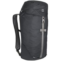 Embrace adventures. Shift seamlessly between urban setting and wild places. The Travel Light series is light, compact and easy to stow inside a larger pack or piece of luggage. This top loading version serves as a roomy daypack or an ultralight (though not exceptionally durable) summit pack.