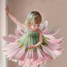 Flower costume. Every little girls dream outfit