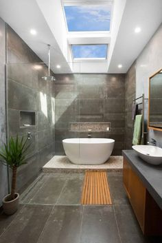 Beautiful master bathroom decor some ideas. Modern Farmhouse, Rustic Modern, Classic, light and airy master bathroom design suggestions. Bathroom makeover tips and master bathroom renovation a few ideas. Modern Master Bathroom, Boho Bathroom, Bathroom Ideas, Master Bathrooms, Bathroom Organization, Bathroom Storage, Bath Ideas, Bathroom Gallery, Bathroom Red