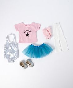 Loving this Dance Outfit for 18'' Doll on #zulily! #zulilyfinds