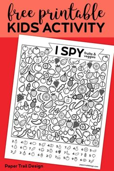Printable I Spy Game - Fruits & Veggies. Easy fun car activity or rainy day boredom buster activty to keep kids busy.Free Printable I Spy Game - Fruits & Veggies. Easy fun car activity or rainy day boredom buster activty to keep kids busy. Car Activities, Printable Activities For Kids, Classroom Activities, Free Printables, Baby Activites, Game Fruit, I Spy Games, Do It Yourself Food, Hidden Pictures