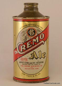 Cremo Ale All Beer, Best Beer, Beer Logos, Beer Can Collection, Old Beer Cans, Beer Mats, Beers Of The World, Beer Brands, Antique Signs