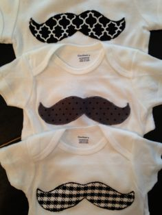 Mustache 3-pack - One for three or three for one!