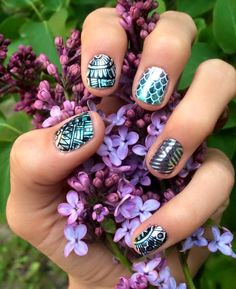 Proven targeted nutritional supplements, amazing nail designs, and unmatched opportunities for a home-based business. Uñas Jamberry, Jamberry Nail Wraps, Jamberry Style, Snow White Nails, Jamberry Combinations, Nautical Nails, Mermaid Nails, Pink Power, Manicure At Home