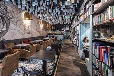 Panta Rhei & Café Dias / bookstore & cafe, Bratislava, 2016 - at26