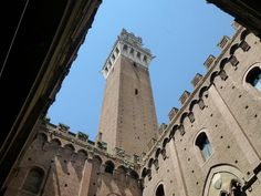"See 2480 photos and 80 tips from 24074 visitors to Siena. ""Siena is one of the most beautiful cities in Italy. Placed in the heart of Tuscany among. Italy Tourist Attractions, Cities In Italy, Under The Tuscan Sun, Most Beautiful Cities, Italy Vacation, Siena, Tuscany, Tower, Building"