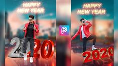 Happy New Year 2020 Special PicsArt Photo Editing Tutorial - Happy New Year Photo Editing 2020