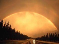rainbow heaven | Somewhere over the rainbow, bluebirds fly
