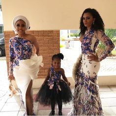 Rock The Cold Shoulder Outfit: Aso-Ebi Style African Wear, African Fashion, African Style, Latest Outfits, Fashion Outfits, Fashion Styles, Women's Fashion, Lace Gown Styles, King Dress