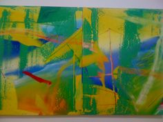 Gerhard Richter at Beaubourg in Paris - Beautiful exhibition! I particularly loved those colourful abstract paintings.