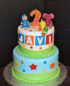 Pocoyo Cake by Simply Sweet Creations