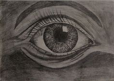 """sketched by me.. """"The Eye"""". pencil sketch."""