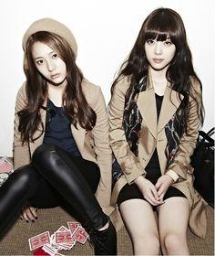 Krystal and Sulli of f(x) #korean #asian