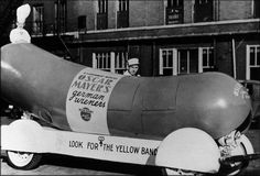 The Oscar Meyer Wienermobile made its debut July 18, 1936.