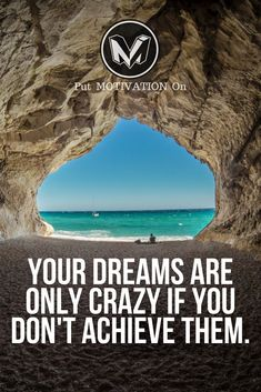 Crazy dreams. Follow all our motivational and inspirational quotes. Follow the link to Get our Motivational and Inspirational Apparel and Home Décor. #quote #quotes #qotd #quoteoftheday #motivation #inspiredaily #inspiration #entrepreneurship #goals #dreams #hustle #grind #successquotes #businessquotes #lifestyle #success #fitness #businessman #businessWoman #Inspirational
