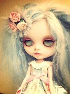 Custom Blythe Doll Clementine by Rabbitwithoutears