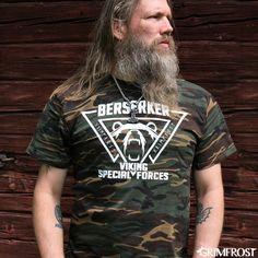 Viking Valknut Sweat Gris.
