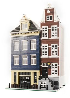 Canal Street House #1 - Lego Modular Building