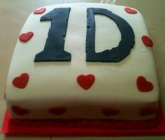 torta de one direction