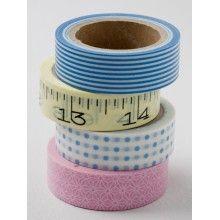pink & blue tape bloomingville